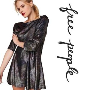 NWT Free People $128 Diamonds are Forever Dress